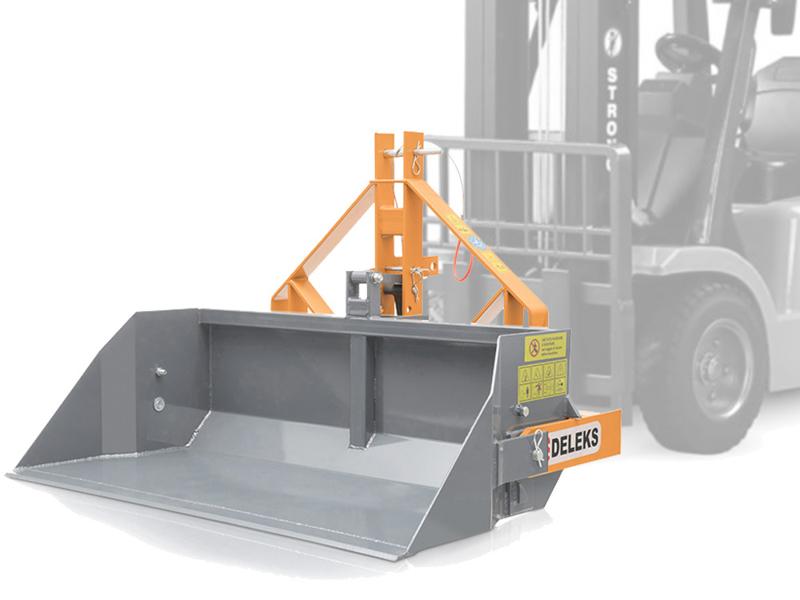 hydraulisk-tung-skovel-med-gaffeltruck-fæste-pri-140-hm