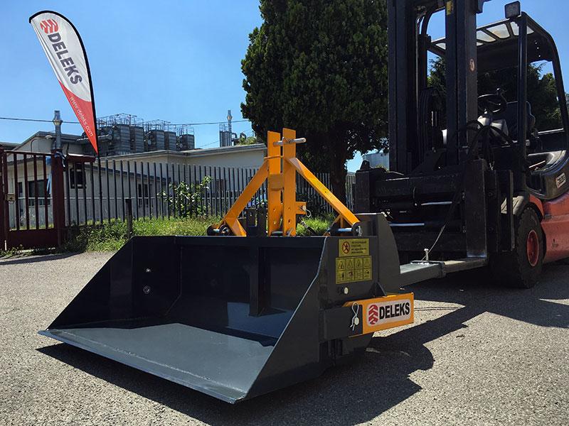 hydraulisk-tung-skovel-med-gaffeltruck-fæste-pri-160-hm