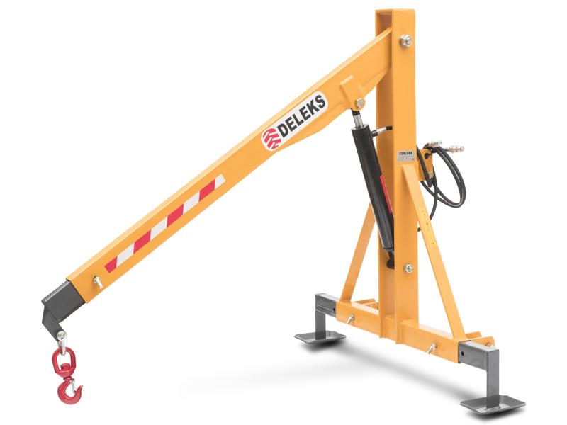 hydraulisk-kran-til-traktorer-deleks-arm-forlænges-i-tre-faser
