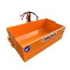 skovl med hydraulisk tip til traktorer med 3 punkts ophæng