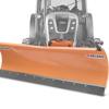 sneblade med pladefæste og hydraulisk løft traktor sneblade deleks